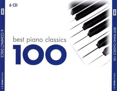 Various<br>Best Piano Classics 100<br>6CD, Comp, RM, RP